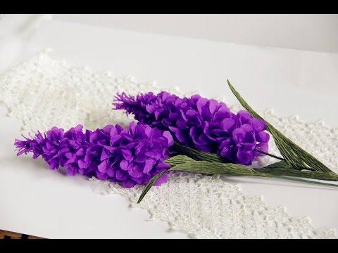 cách làm lavender bằng giấy